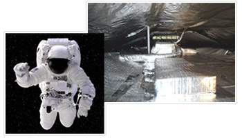 reflective attic foil insulation used by NASA
